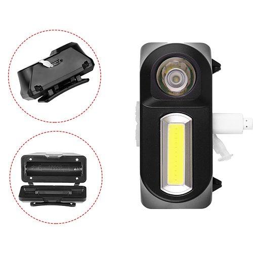 Sensor Headlights Flashlight Outdoor 18650 Battery Led Bulbs Q5 Lithium Ion Camping Cycling Portable Mini Headlamp Fishing