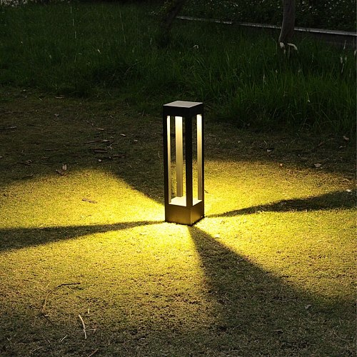 Modern Led Lawn Lamp Outdoor Garden Path Light Waterproof Backyard Park Landscape Lighting 40cm 10W