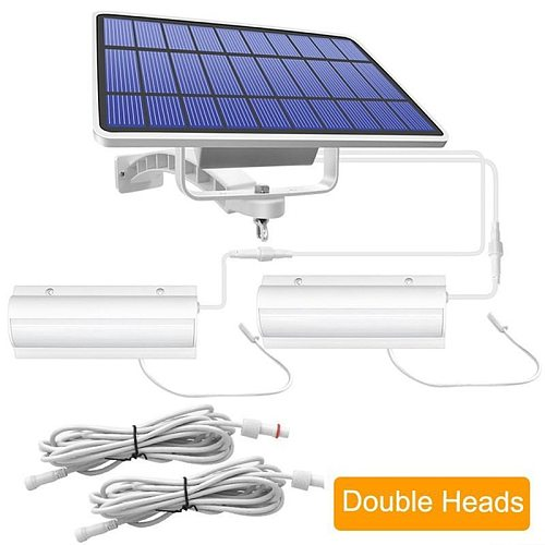 New Pattern Upgraded LED Solar Pendant Lights Outdoor Indoor Auto On Off Solar Lamp for Terrace With Pull Switch And 3m Lin
