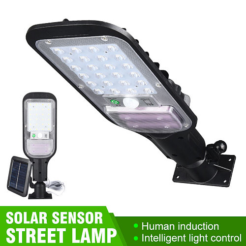 100W Powerful Solar LED Lights Outdoor Waterproof Street Lamp with Remote Control Path Home Depot Garden Yard Solar Wall Light