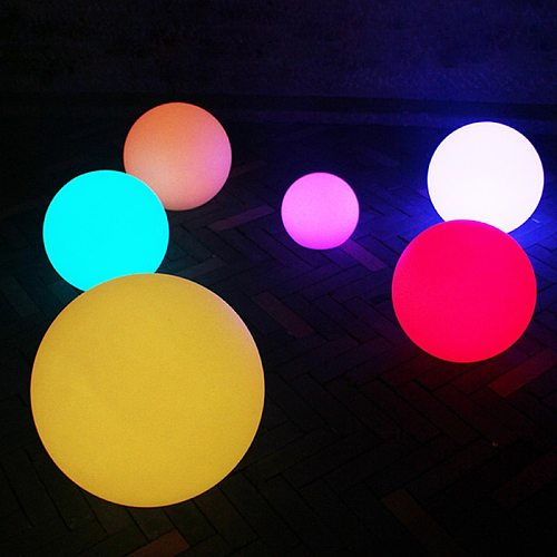 Waterproof LED Garden Ball Light landscape lighting deco jardin exterieur Outdoor Party Wedding bar piscina Floating Lawn Lamps