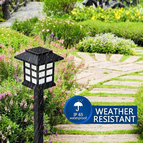4/6/8pcs led Solar Pathway Lights Waterproof Outdoor Solar Lawn Lights for Garden/Landscape/Path/Yard/Patio/Driveway/Walkway