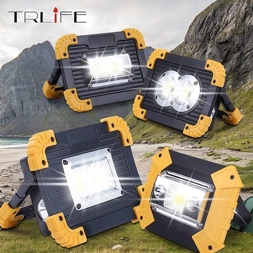 4000LM Led Portable Spotlight Led Work Light Rechargeable 18650 Battery Outdoor Light Led Latern Flashlight For Hunting Camping