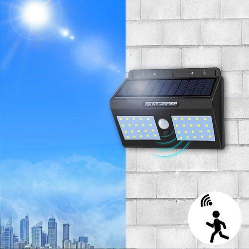 LED Solar Street Light Motion Sensor Outdoor Waterproof Garden Light 1200 mAh Rechargeable Battery Night Emergency Street Lights
