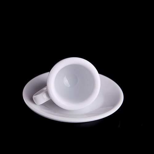 Professional Competition Level Nuova Point Esp Espresso Cups Saucer Sets Contest Special 55ml Thick 9mm Italian Coffee Tumbler