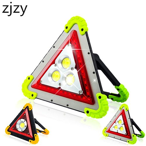 COB LED Work Light Rechargeable Portable Waterproof LED Flood Lights for Outdoor Camping Hiking Emergency Car Repairing Job Site