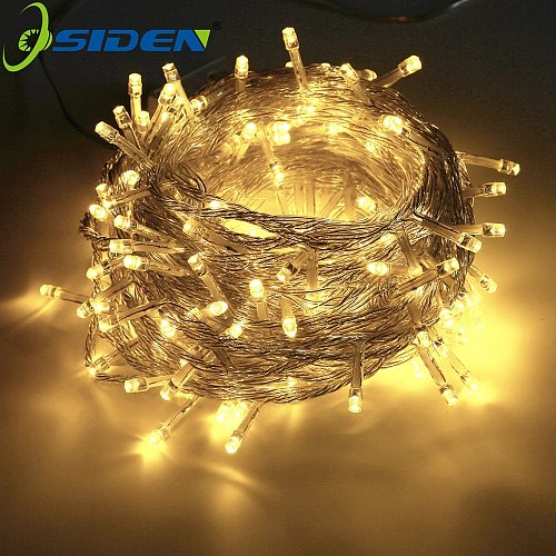 Christmas String Light  AC110V 220V Wedding/Party Decoration Light garland outdoor Waterproof led lamp 9 Color 500LED 50M