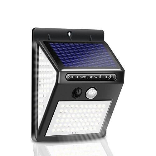 100~150 LED Solar Light Outdoor Solar Lamp PIR Motion Sensor Solar Powered Street porch Path Sunlight for Garden Decoration