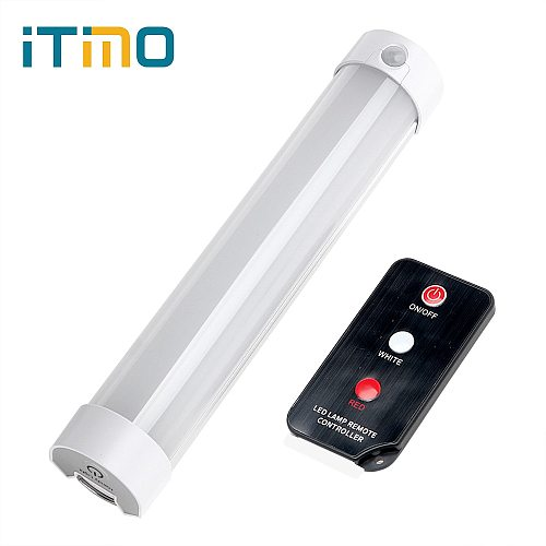 ITimo Portable Lantern Hiking Lamp Rechargeable Magnetic Repair Light 5 Modes with Remote Control LED SOS Emergency Light