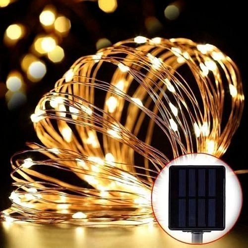 Solar String Fairy Lights LED Waterproof Outdoor Garland Solar Power Lamp Christmas Wedding for Garden Decoration Outdoor