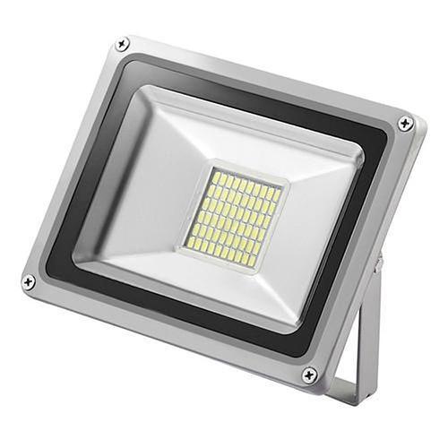 LED D4 Flood Light Cool White IP65 Waterproof 12V Ventilation Device Outdoor Floodlight for Garage Garden Yard