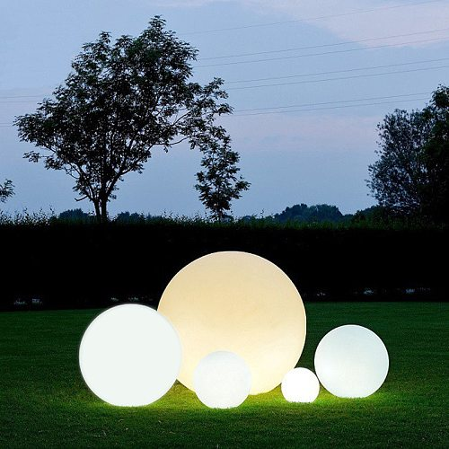 16 Color RGB LED Ball Garden Party Decoration Swimming Pool Floating Ball Light IP68 Outdoor Lawn Lamps With Remote