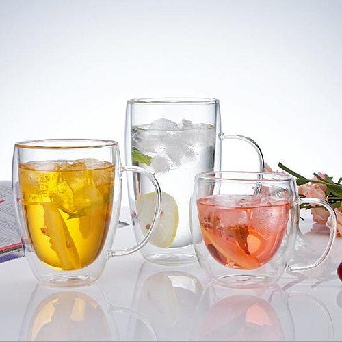 Double Wall Insulated Glasses Espresso Coffee Mug 80/250/350/450 ML Heat-Resistant Transparent Tea Milk Glass Cup Mugs Drinkware