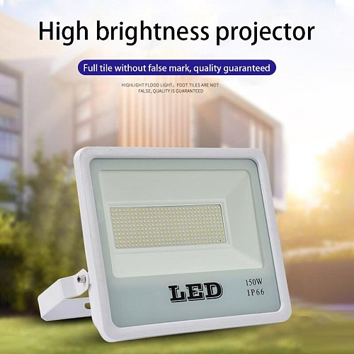 LED Flood Light Outdoor Floodlight Spotlight 50W 100W 150W High Brightness Waterproof LED Street Lamp Landscape Lighting