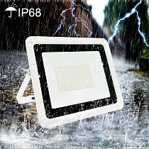 LED Floodlight 10W 20W 30W 50W 100W 220V Flood Light IP68 Waterproof Outdoor Wall Garden LED Spotlight Reflector Foco Lamp