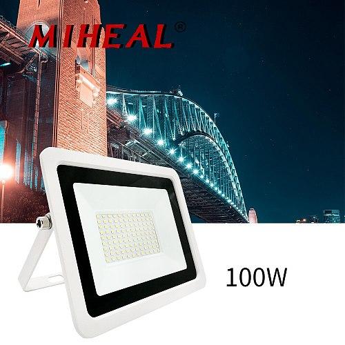 Led Floodlight 10W 20W 30W 50W 100W Outdoor Spotlight Flood Light AC 220V 240V Waterproof IP68 Professional Lighting Lamp