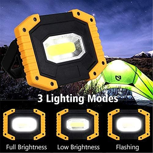 T-SUN 30W Rechargeable Portable Work Light for Outdoor 3 Mode Camping Lampe Led Flashlight LED Floodlight with USB Super Bright