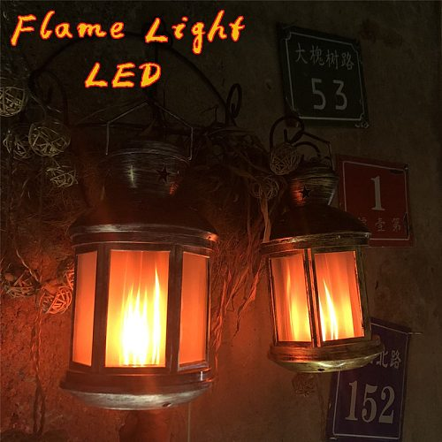 2019 LED Flame Lamps  Flame Effect Light Bulb Wind Light Creative Home Vintage Decoration Halloween Christmas gifts LED light
