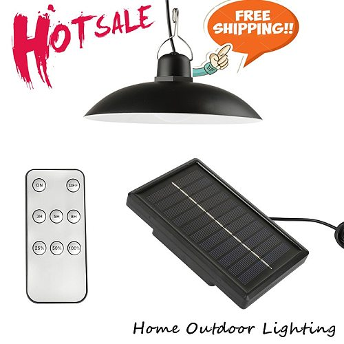 New Style Solar Chandelier With Remote Control For Outdoor Indoor Porch Balcony Outdoor Indoor Automatic Switch Solar Light Tool