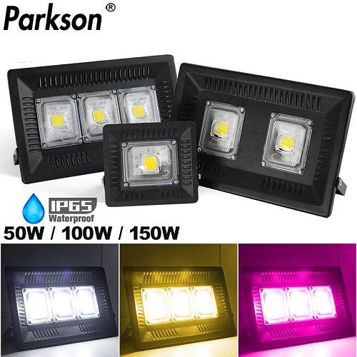 AC 220V Outdoor Lighting LED Floodlight Spotlight 50W 100W 150W Street Lamp Indoor Led Grow Light For Flower Seeding Phyto Lamp