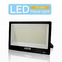 LED Floodlight 220V Outdoor Spotlight IP66 Waterproof led Wall Reflector Lighting 200W 100W 50W 30W 10W Garden Square Decoration
