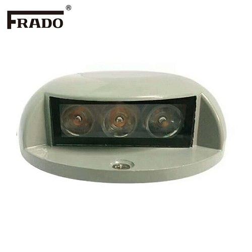 3W LED Inground Light Outdoor Underground Lights Recessed Spotlight Kit IP67 DC12V-24V Patio Pavers Floor Deck Stair Lamp