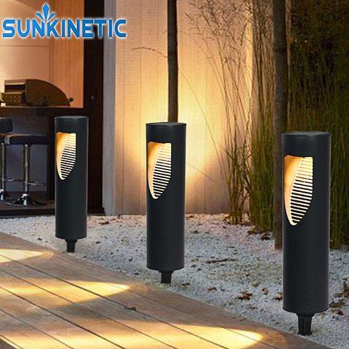 Solar Lawn Lamp Waterproof LED Garden Lawn Lights Outdoor Solar Energy Lighting Landscape Lighting For Pathway Patio Yard Lamp