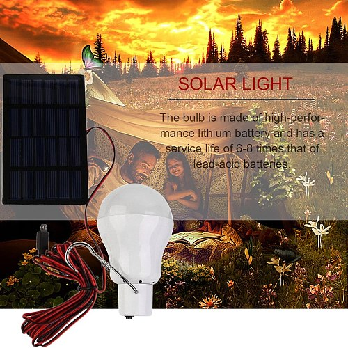 20W 150LM Portable Solar Power LED Bulb Solar Powered Light Charged Solar Energy Lamp Outdoor Lighting Camp Tent Hot Sale