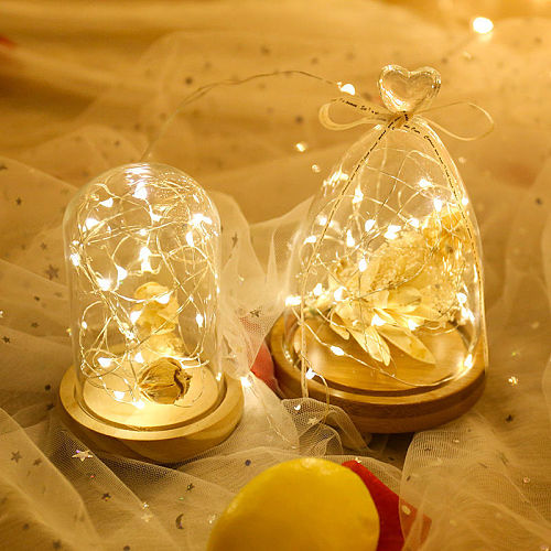 2/3/5/10M USB LED String Lights Sliver Wire for Xmas Garland Party Birthday Wedding Decor Christmas Tree Flasher Fairy Light