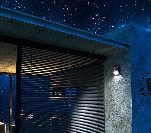 SUNYIMA Outdoor Solar Light 8/30LED Solar Wall Lamp Waterproof PIR Motion Sensor Garden Light Solar Powered Sunlight Street lamp