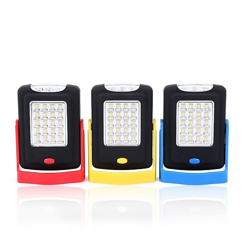 LED Portable Lantern COB Magnetic Working Light Flashlight Torch Camping Tent Lamp For Emergency Car Repair Workshop