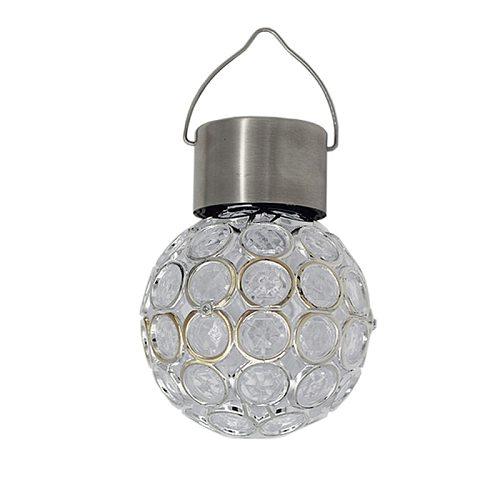 Solar Light outdoors LED Lantern Waterproof Hollow Small Chandelier Light Control Garden Courtyard Corridor Window Hanging Lamp
