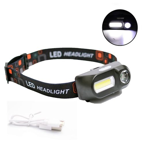 Z901804 Sensor XP-G Q5 Headlamp Camping Head Light Lamp by 1* 18650 Rechargeable Battery LED COB Bulbs Litwod Lithium Ion 10w