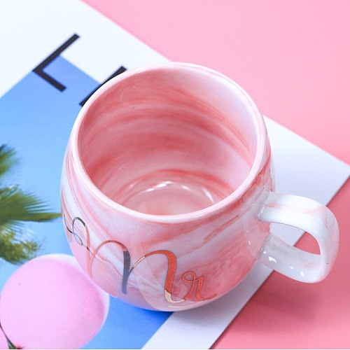 Flamingo Coffee Mugs Ceramic Mug Travel Cup Cute Cat Foot Ins 72*85mm H1215