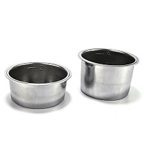 51mm Coffee Machine Accessories No Pressure Filter Cup Filter Stainless Steel Coffee Set Powder Cup Powder Bowl