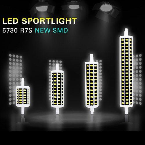LED Floodlight R7S LED Bulb Tube 85-265V 78mm 118mm 135mm 189mm 5W 10W 15W 20W Flood Lights J78 J118 J135 J189 Replace Halogen