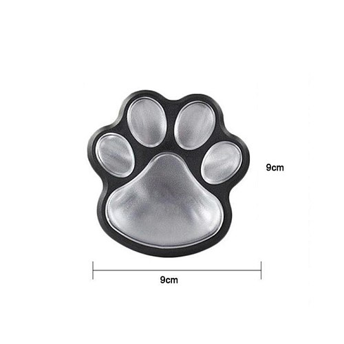 Solar Cat Animal Paw Print Light 4pcs LED Solar Light Outdoor Street Light LED Garden Path Decoration Lighting Footprint Light