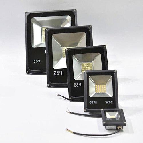 LED Flood Light 50W 30W 20W 12V DC Floodlight 5730SMD IP65 Waterproof LED Spot light Refletor LED Outdoor Lighting Gargen Light
