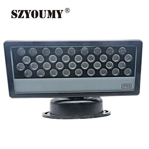 SZYOUMY LED RGB DMX flood light ip65 reflektor lamp 36W aluminium Floodlights Building lamp led Outdoor LED lighting Wall wash