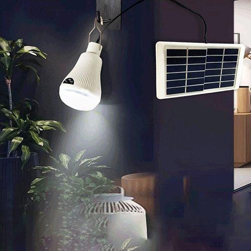 Solar 20Led Light  Outdoor Waterproof Ip65 Solar Panel Bulb Hanging Lamp Courtyard Decoration Solar Led Portable Tent Lantern
