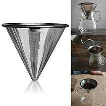 Hot Permanent Coffee Filter Coffee Filter Permanent Filter Gold Filter Metal Strainer Stainless Steel