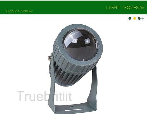 LED Lawn Light 3W/10W Wall Washer Waterproof Floodlights Narrow Beam Spot Lamp Outdoor Landscape Spotlight 100-240V