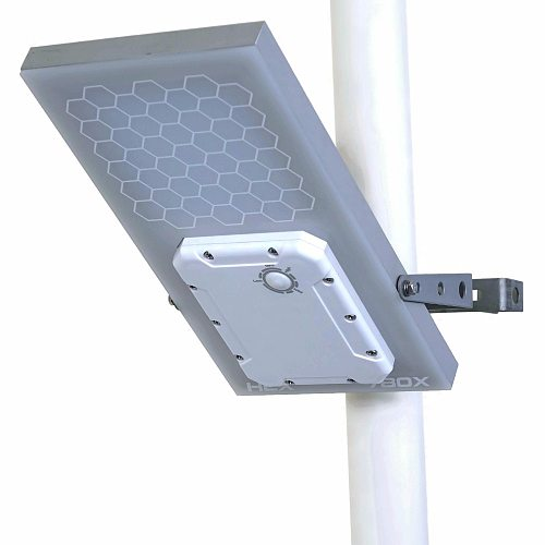 HEX 780X Warm White All in One Waterproof Day/Night Sensor 3 Power modes Solar Powered LED Street Light Solar Outdoor Light