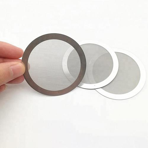 61mm Metal Filter Durable Reusable Stainless Steel Washable Coffee Filter for Coffee Makers