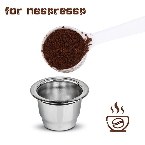 Nespresso Stainless Steel Refillable Coffee Capsule Coffee Filter Reusable Coffee Filter Coffee Filter Replacement Coffee Supply