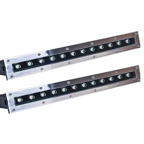 Waterproof IP65 RGB   square rectangle LED Underground Lights led recessed inground lights