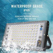 100W LED Floodlight AC 220V Outdoor Searchlight Spotlight IP65 Waterproof LED Street Light Landscape Outdoor Garden Lighting