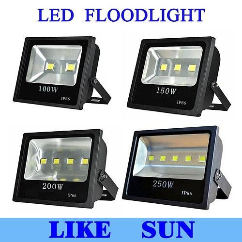 100W 150W 200W 250W LED Flood Lights RGB / Warm light / Cool light Super Bright Outdoor LED Flood Lighting