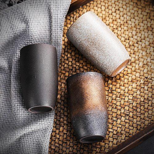 Stoneware Ceramic Coffee CupMugs Beer Tea Glass  Drinking Cup 225ML