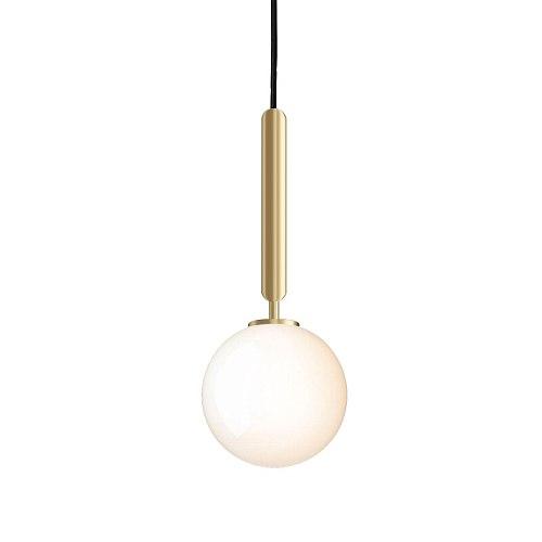Postmodern glass ball small chandelier cafe bar dining room art lamps creative corridor bedside wall lamp